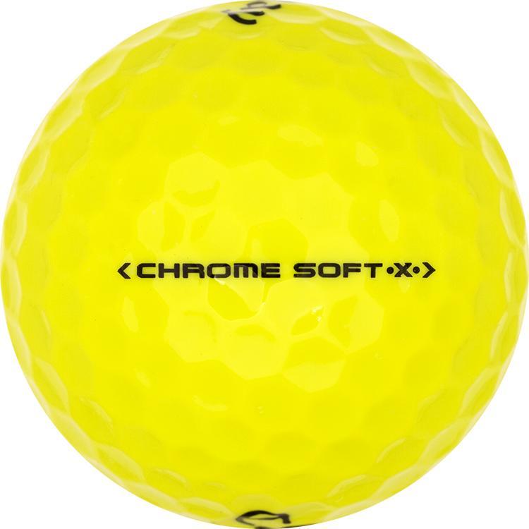 Callaway Chrome Soft X Geel