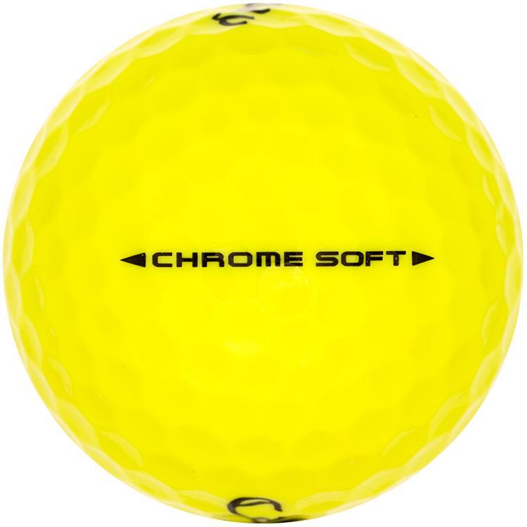 Callaway Chrome Soft Geel