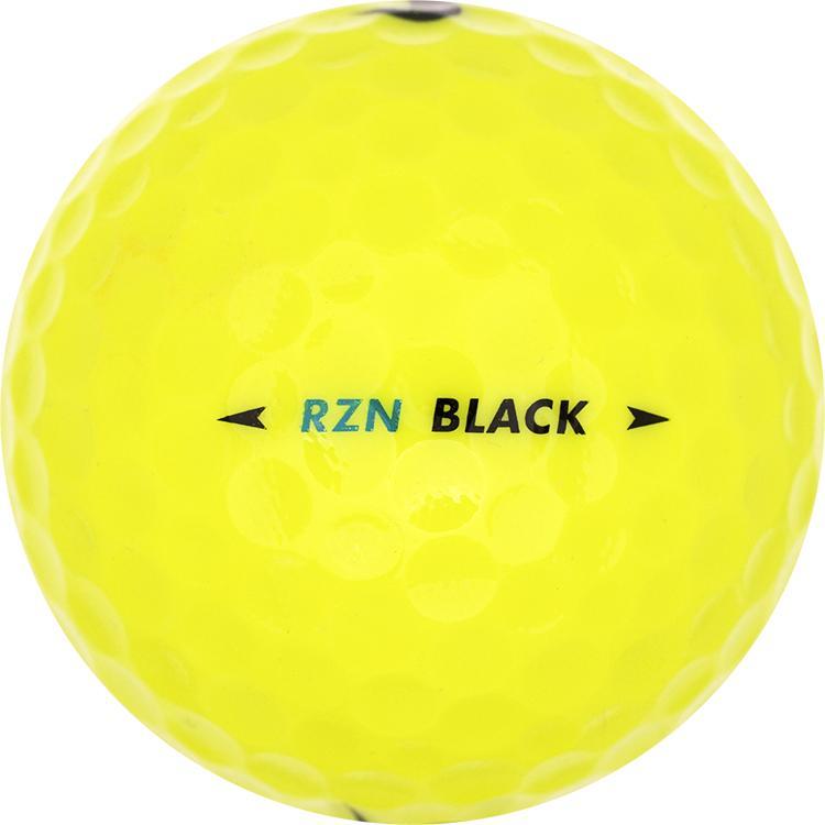 Nike RZN Black Geel