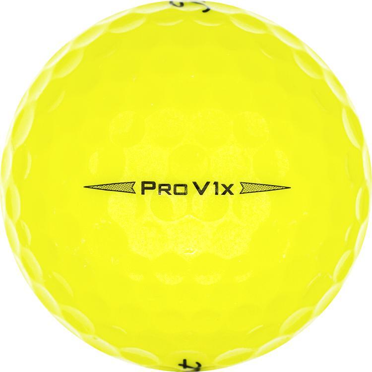 Titleist Pro V1x Geel (2019)